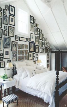 Watermill New York farmhouse bedroom