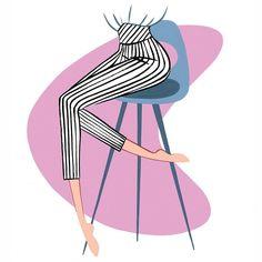 "1,196 Likes, 9 Comments - Jordi Labanda, illustrator (@jordilabanda) on Instagram: ""50's bar stool"""