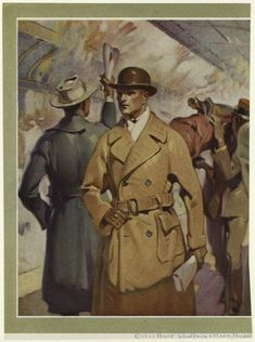 A snazzy coat and bowler, 1921; NYPL Digital Gallery