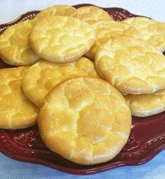 These light and fluffy Oopsie Rolls or Cloud Bread are only 3 ingredients and a great sandwich bread replacement. Ultra low carb at just .5 carbs per roll.