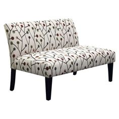The price is right on this and free shipping -- Avington 2 Seater Upholstered Settee Loveseat-Whimsical