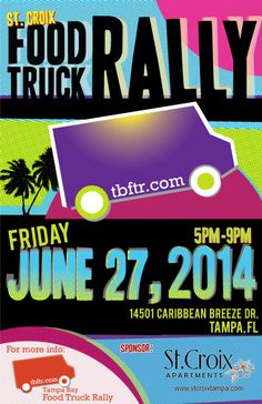 Come see us at the St. Croix apartment complex on Friday, June 27th!