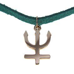 Pingente Folheado a Ouro - Sailor Netuno - 1164F - R$ 59,50