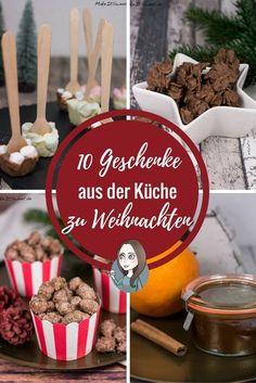 10 Geschenke aus der Küche zu Weihnachten - schnell und einfach mit wenige Zutaten
