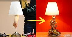 This ishow you can make anamazing lamp from old toys