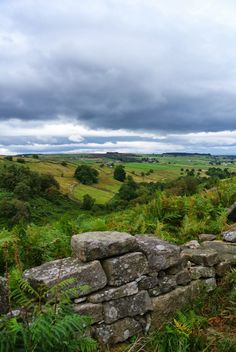 Bronte Country, Yorkshire - Beautiful landscape, but easy to get lost (had to experience that myself, unfortunately...)