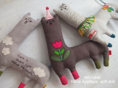 handmade*zakka | fabrickaz+idees think alpaca, think llama , think lovely plushie