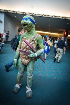 Sweet mercy, this is terrifying. #SDCC #TMNT