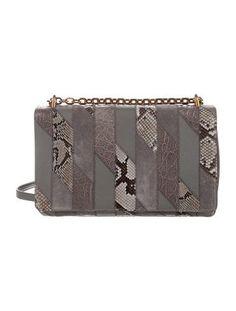 Prada Crocodile & Python Patchwork Bag