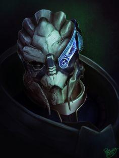Mass Effect: Garrus Vakarian by Ruthie Hammerschlag