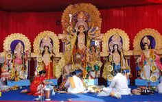 Durga Puja is a incredible merriment of Good (Ma Durga) winning over the Evil (Mahishasur the evil spirit). It is a love of force of Good which dependably wins over the bad.