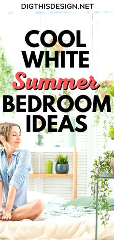 A white bedroom might just be what you need for summer cool sleeping. In our previous post, you can see other rooms in the house with examples of white interiors. However, in this article, we bring you three heart-warming examples of how a cool white bedroom might fit into your home's interior design. Get inspiration with these cool white summer bedroom ideas! Home Design Diy, Interior Design, White Bedroom Design, Summer Bedroom, Colourful Cushions, Boho Home, Bedroom Decor, Bedroom Ideas, White Candles