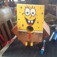 SpongeBob birdhouse