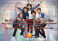 FELICIDADES #OneDirection por su 4° aniversario