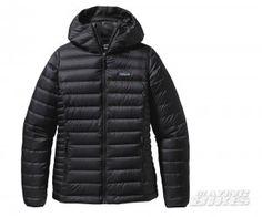 Patagonia Women's Down Sweater Hoody Jacket Black