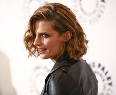 "#StanaKatic arrives at ""Castle Is Back @ The Paley Center"" (2013)"