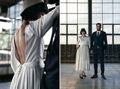 This classic inspired wedding dress from Luke & Leigh's Boer War Memorial Wedding Different Dresses, Wedding Memorial, Running Away, Love And Marriage, Wedding Inspiration, Romance, Normcore, War, Magic