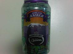 Cerveja Caldera Ashland Amber, estilo American Amber Ale, produzida por Caldera Brewing, Estados Unidos. 5.6% ABV de álcool.