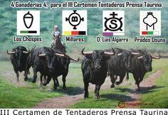 III Certamen de Tentaderos Prensa Taurina