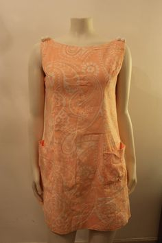 Vintage 1960's  Pink Paisley Summer Dress  by GeorgetteEtJosephine, $30.00 Summer Dresses, Formal Dresses, Paisley, Trending Outfits, Unique Jewelry, Pink, Etsy, Clothes, Vintage