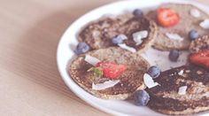 Recette de pancakes vegan aux graines de chia