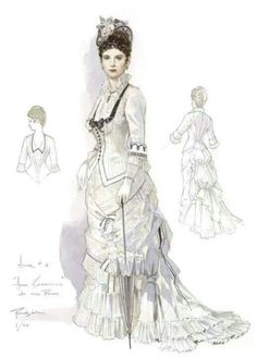 Costume designs by Robert Perdziola for Anna Karenina at Florida Grand Opera. Description from pinterest.com. I searched for this on bing.com/images
