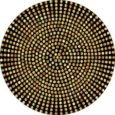 Gold Radial Dots ❤ liked on Polyvore featuring backgrounds