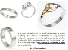 helps to express your love. Coming in various models or wide ranges of silver rings to buy online in Delhi  from sonijewells.   http://sonijewells.in/product.php?id=15
