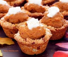 These pumpkin cups are the perfect solution for all you party nibblers out there! Paleo Party Pumpkin is one of the favorite flavors of the season.