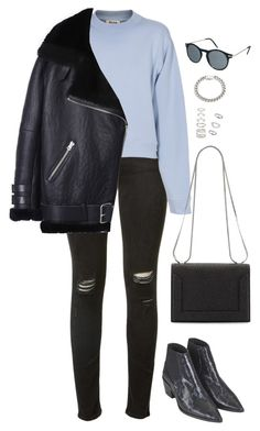 Sans titre #739 by romane-inspiration on Polyvore featuring polyvore, fashion, style, Acne Studios, rag & bone, Topshop, 3.1 Phillip Lim, Forever 21, Yves Saint Laurent, Monki and clothing