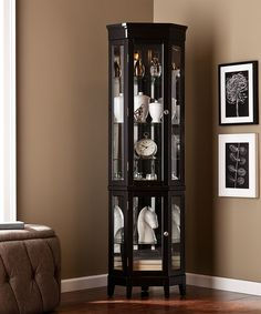 Love This Black Essex Lighted Corner Curio By Southern Enterprises On
