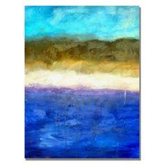 Abstract Dunes Canvas Print Michelle Calkins