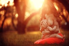 My favorite pose for my  upcoming breastfeeding session :) hope we can achieve it