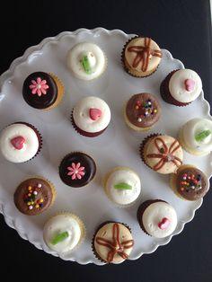 Mini cupcakes by Georgetown Cupcake