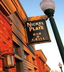 Nickel Plate Bar & Grill, downtown Fishers IN