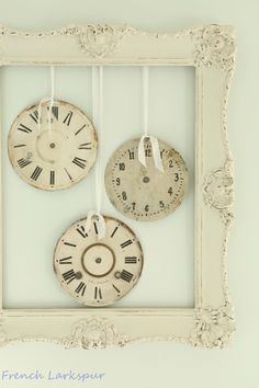 Looking for new shabby chic inspiration? Check out the French Larkspur blog.