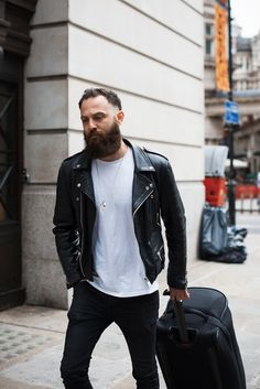 Similar look  Reclaimed Vintage Leather Biker Jacket. Leather Jacket Street.  Leather Jacket Street Style MenLeather ... 84c8a9a19