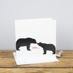 I Love You Card - anniversary cards
