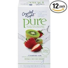Crystal Light On The Go Pure Fitness Strawberry Kiwi, 7-Count Boxes (Pack of 4) by Crystal Light, http://www.amazon.com/dp/B0041U5LWW/ref=cm_sw_r_pi_dp_GarJrb1P6FTC0