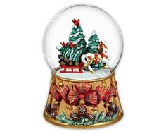 BREYER Horse 2016 Holiday Traditions Musical Snow Globe, item #700237