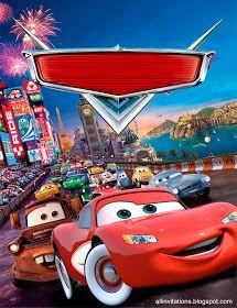 Cars Birthday Party Invites Lightning Mcqueen 49 Ideas For 2019 Disney Cars Party, Disney Cars Birthday, Disney Pixar Cars, Car Themed Parties, Cars Birthday Parties, Happy Birthday, 5th Birthday, Mc Queen Cars, Festa Hot Wheels