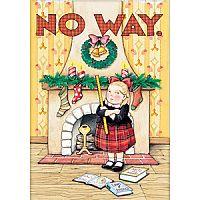"SU ""No Way"" Christmas Card ~ Sister"