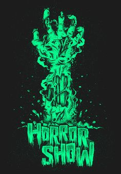 HORROR SHOW Book release & Exhibition on Behance in Illustration