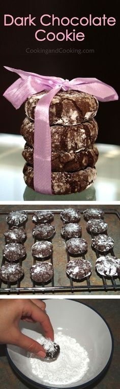 Dark Chocolate Cookies Recipe