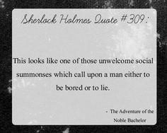 Sherlock Quotes