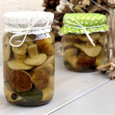 Marynowane grzyby – bez pasteryzowania