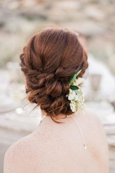 From romantic chignons to boho style braids and elegant top knots - get inspired for your wedding hairstyle with these 16 incredible bridal updos!