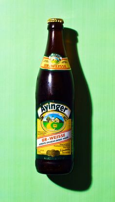 Ayinger Ur-Weisse... one of the nine beers I'll be drinking this summer.
