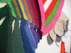 Valerie Anne Molnar - You're Trying To Kidnap What I've Rightfully Stolen (detail)valerie molart knitted art