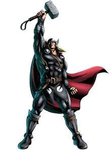 Thor my comic hero!